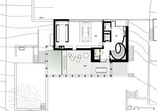 Wohnhaus in baden schweizer baudokumentation for Wohnhaus grundriss