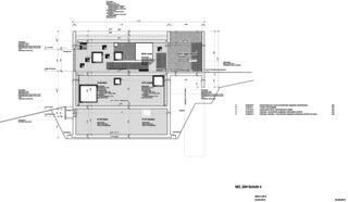 Detailschnitt 1 Neubau Betonhaus in Füllinsdorf von Studio d'architettura wdmra<br/>