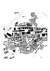 Schwarzplan Schulanlage Reitmen, Schlieren von Graber Pulver Architekten AG