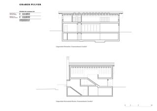 Längsschnitte Ersatzneubauten Lüssihof, Zug von Graber Pulver Architekten AG