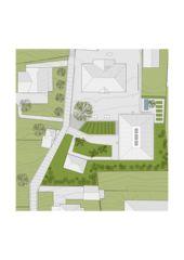 Umgebungsplan Neubau Primarschulhaus Ecole des Collonges von Architekten ETH / SIA<br/>