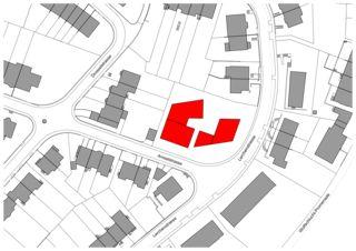 Situationsplan Neubau zwei Mehrfamilienhäuser von Ferrara Architekten AG