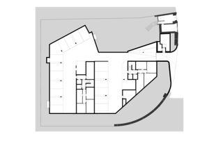 Grundriss Untergeschoss Neubau zwei Mehrfamilienhäuser von Ferrara Architekten AG
