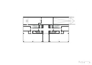 Grundriss Erdgeschoss  Wohn- und Geschäftsüberbauung Rosentalstrasse von Morger Partner Architekten AG