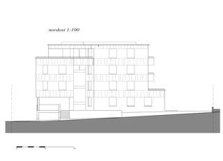 nord-est Überbauung Opus de indra+scherrer architektur