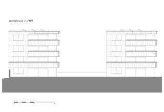 nord-ouest Überbauung Opus de indra+scherrer architektur
