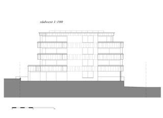 sud-ouest Überbauung Opus de indra+scherrer architektur