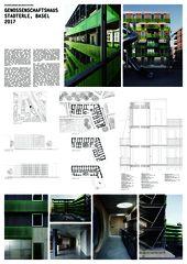 A0 Genossenschaftshaus Stadterle von Buchner Bründler Architekten BSA SIA