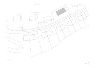 Situationsplan Villa Rebstockhalde, Luzern von Unit Architekten AG