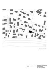 Schwarzplan Gemeindehaus Unterengstringen von Tilla Theus und Partner AG