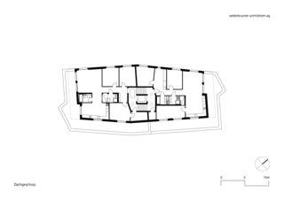 Dachgeschoss MFH Schönheim, Affoltern am Albis von weberbrunner architekten ag