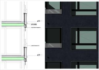 edensieben_détail Neubau Mehrfamilienhaus edensieben, Zürich  de Philipp Wieting - Werknetz Architektur