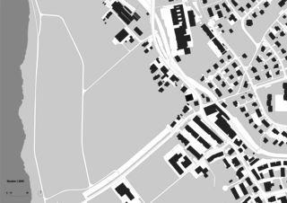 Situation Haus in der Scheune von Meili Mader Eggenberger Architekten GmbH