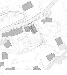 Lageplan Neubau EFH Arbaz, VS von Scheibler Villard
