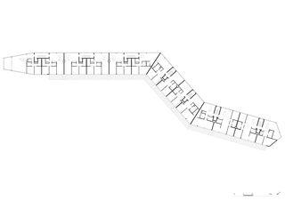 Plan de masse Giesshübel - Gleis 3 de burkhalter sumi architekten