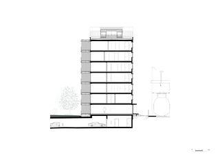Coupe Giesshübel - Gleis 3 de burkhalter sumi architekten