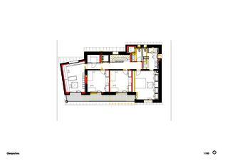 Étagesupérieur Einfamilienhaus Waldrietstrasse de Marazzi + Paul Architekten AG