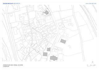 Lageplan Swisshouse XXXII von Studio d'architettura<br/>