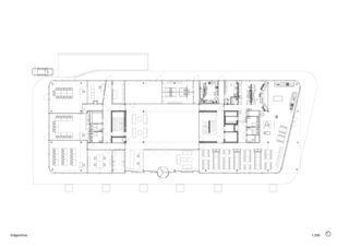 Erdgeschoss 3M Headquarter EMEA von Marazzi + Paul Architekten AG