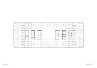 Regelgeschoss 3M Headquarter EMEA von Marazzi + Paul Architekten AG
