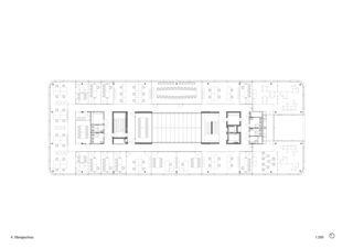 4. Obergeschoss 3M Headquarter EMEA von Marazzi + Paul Architekten AG