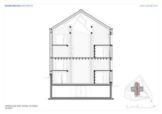 Schnitt Swisshouse XXXII von Studio d'architettura<br/>