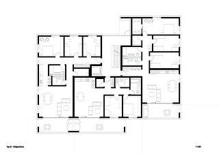 Typ B Erdgeschoss Sonnenarena Langnau von Marazzi + Paul Architekten AG