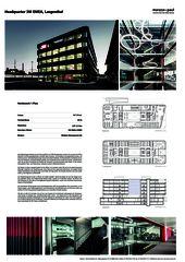 Poster 3M Headquarter EMEA von Marazzi + Paul Architekten AG