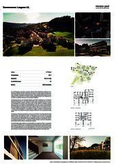 Poster Sonnenarena Langnau von Marazzi + Paul Architekten AG
