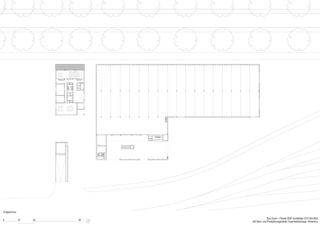 Erdgeschoss Büro- und Produktionsgebäude von Architekten ETH SIA BSA<br/>