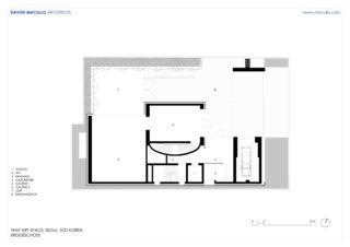 Rez-de-chaussée WAP Art Space de Studio d'architettura<br/>