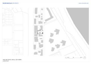 Lageplan WAP Art Space von Studio d'architettura<br/>