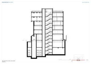 Schnitt 2 WAP Art Space von Studio d'architettura<br/>
