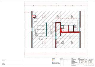 Grundriss DG Sanierung Stöckli von Dever GmbH