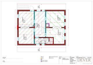 Grundriss OG Sanierung Stöckli von Dever GmbH