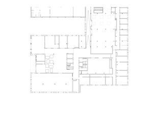 Erdgeschoss Erweiterung Gesundheitszentrum Dielsdorf von Bob Gysin + Partner BGP Architekten ETH SIA BSA