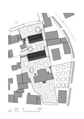 situation Kindertagesstätte, Hort und Krippe, Vétroz de Savioz Fabrizzi architectes Sàrl