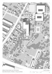 Situation BCFWS Verwaltungsgebäude für die AHV de ARGE Berrel Berrel Kräutler / Herzog Architekten