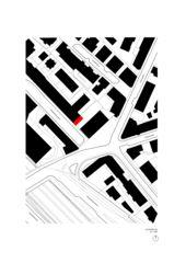 Schwarzplan ELLI Wohnhaus und Atelier von Holzer Kobler Architekturen GmbH