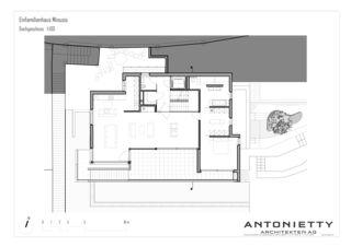 Dachgeschoss EFH Minusio von Dipl. Architekten FH/SIA<br/>