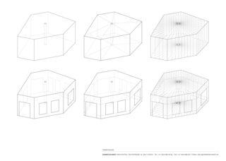 Formfindung Raiffeisenbank Zürich Wollishofen von Zimmer Schmidt Architekten GmbH