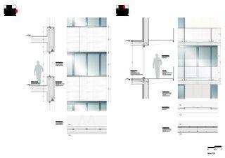 Fassadenansichten Transitlager Dreispitz von BIG CPH