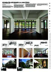 A0 Wohnbauten Kirchenweg 2,4,8, 8008 Zürich  von Tilla Theus und Partner AG