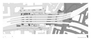 Ebene Bahnhofplatz Ausbau Bahnhof Oerlikon von 10:8 Architekten GmbH