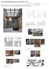 Plakat A0 Raiffeisenbank Gossau-Niederwil von Zimmer Schmidt Architekten GmbH