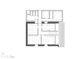 Obergeschoss Cabane Rambert von Bonnard Woeffray architectes fas sia