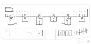 Parking souterrain Wohnsiedlung Riedgraben, Schwamendingen de Architekten ETH SIA<br/>