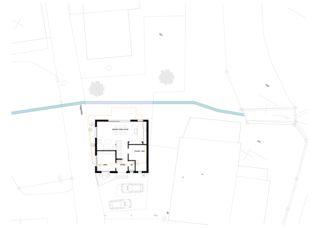 Grundriss Erdgeschoss Zur letzten Herberge von Roth Architektur