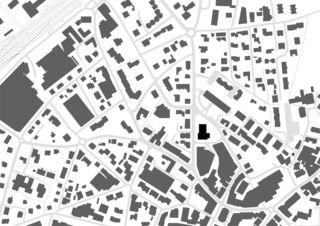 Plan de masse Erneuerung Stadttheater Langenthal de Aebi & Vincent Architekten SIA AG