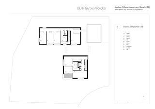 Grundriss OG DEFH Gerber Nidecker von Albertin Partner Architekten